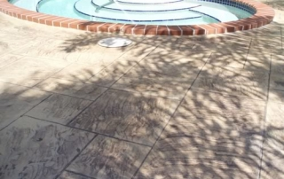 residential pool area