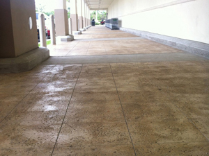 Thin-Crete on commercial concrete floors