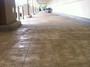 Thin-Crete on commercial concrete floors