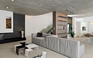artistic-concrete-modern-home-concrete-interior